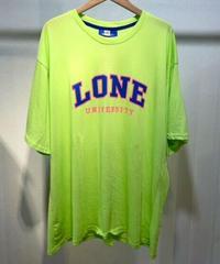 KOREA select「LONE」 ロゴTシャツ グリーン