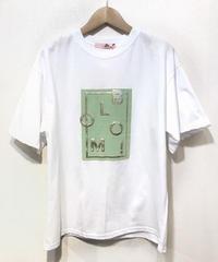 KOREA select 立体ロゴTシャツ ホワイト