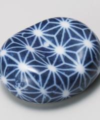 46057-458 小豆麻の葉(青)