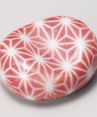 46058-458 小豆麻の葉(赤)