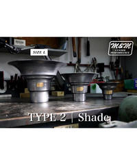 「TYPE2 | Shade Iron」size L