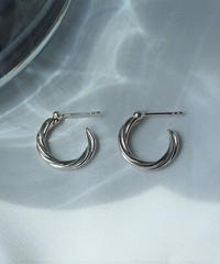 twist hoop pierce(S) (MA-P-02)