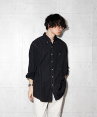 【ポロラルフローレン】後染めビッグブロードシャツ