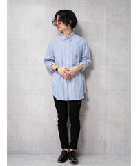 【ポロラルフローレン】ストライプブロードビッグシャツ