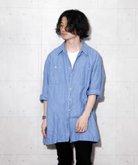 【BURBERRY】ヘリンボーンビッグシャツ