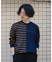 【MBLR】プリントドッキングバスクシャツ