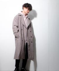 【Re:】ダブルブレストオーバーサイズコート