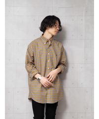 【ブルックスブラザーズ】ブロードチェックビッグシャツ