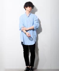 【ポロラルフローレン】ストライプブロードバンドカラーシャツ