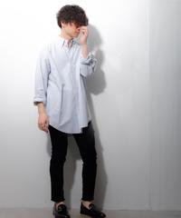 【ポロラルフローレン】ビッグオックスフォードストライプシャツ