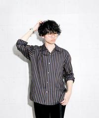 【MB】オープンカラーシャツ(ストライプ)