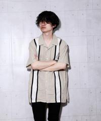 シルクオープンカラーシャツ