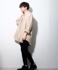 【ポロラルフローレン】リネンビッグシャツ