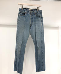 【mill】REMODEL DENIM PANTS (STRAIGHT)