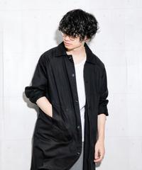 【RYU】 バックサテンステンカラーコート
