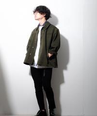 【リメイク】ミリタリーショートジャケット