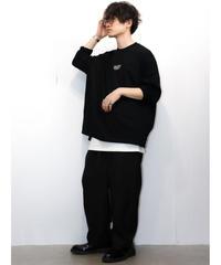 【MBLR】プリントオーバーサイズカットソー