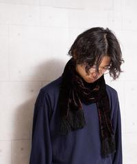 ベロアスカーフ