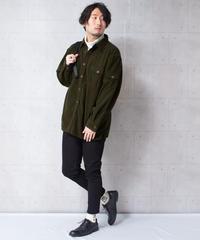 フリースミリタリーシャツジャケット