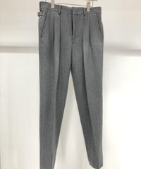 【RAINMAKER】STRECH 2-PLEATED TROUSERS