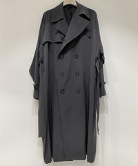 【RAINMAKER】OVERSIZED TRENCH COAT / CHARCOAL