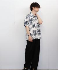 ダークトーンアロハシャツ