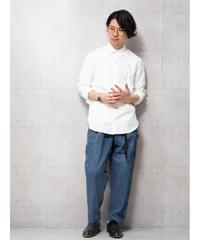 【ATTACHMENT】ブロードレギュラーカラーシャツ