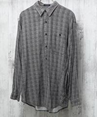 ドレープストライプシャツ