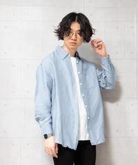【MBLR】ラミードレープシャツ