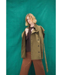 【no.】OVER TRENCH VEST