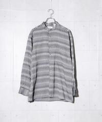 【MBLR】総柄ビッグシャツ