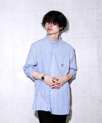 【ラルフローレン】ストライプブロードビッグシャツ