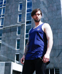 IVTT Diamond logo Tank:DARK NAVY