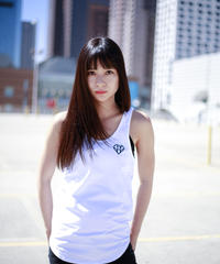IVTT Diamond Logo Tanktop:White
