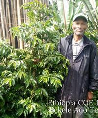 200g  Ethiopia COE 17 – Bekele Ado Tero エチオピア – ベケレアドテロ