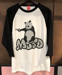 ボスパンダ🐼7部袖tシャツ