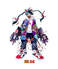 MSSD×SARA YOKOTA collaboration ポスター A2サイズ