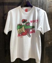 惚れワニ君Tシャツ
