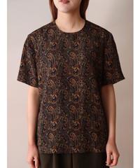 S/S paisley pattern cut sew
