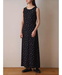 """OLD GAP"" small flower pattern rayon one piece"