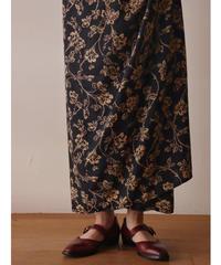 """""""LAUREN"""" flower pattern tight skirt"""
