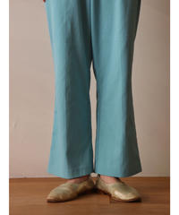 Easy polyester flare pants