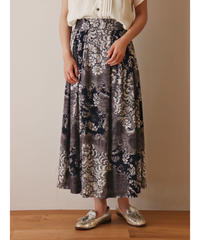 All pattern design rayon skirt