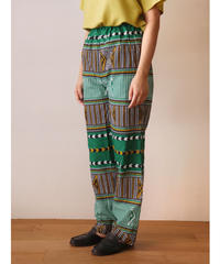 African batik cotton pants