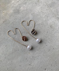 14kgf HEART HOOP PIERCE