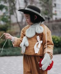 Corduroy coat (yellow)