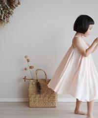 Halter neck dress (pink)