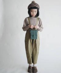 Suspender trousers (Olive green)