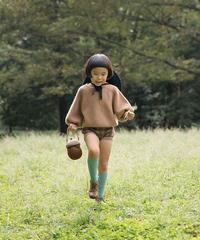 Kids cashmere sweater (caramel)