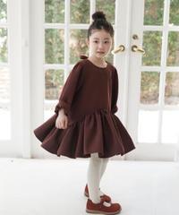 Ruffled hem dress (Mulberry)